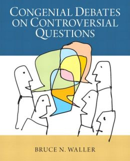 Congenial Debates on Controversial Questions Plus MySearchLab with eText -- Access Card Package