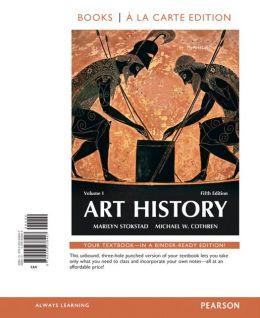 Art History Volume 1, Books a la Carte Edition