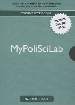 NEW MyPoliSciLab -- Standalone Access Card -- for The Struggle for Democracy, 2012 Election Edition