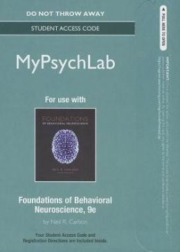 NEW MyPsychLab -- Standalone Access Card -- for Foundations of Behavioral Neuroscience