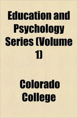 Education and Psychology Series Volume 1