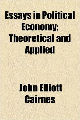 Essays in Political Economy; Theoretical and Applied