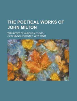 The Poetical Works Of John Milton (1826)