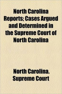 North Carolina Reports Volume 64; Cases Argued and Determined in the Supreme Court of North Carolina
