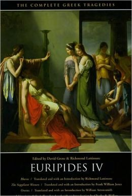Euripides Four: Four Tragedies (Rhesus, The Suppliant Women, Orestes, and Iphigenia in Aulis)