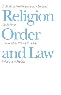 Religion, Order and Law: A Study in Pre-Revolutionary England