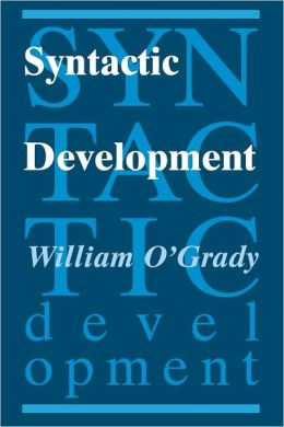 Syntactic Development
