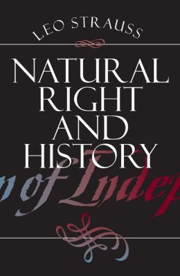 Natural Right and History