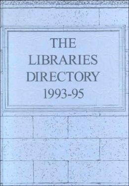 Libraries Directory: 1993-1995