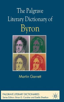Palgrave Literary Dictionary of Byron