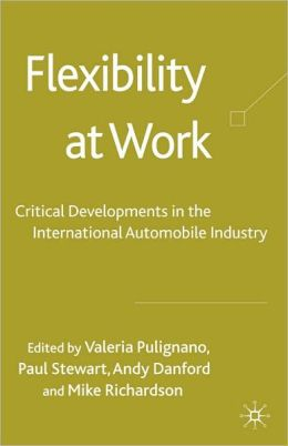 Flexibility at Work: Development of the International Automobile Industry