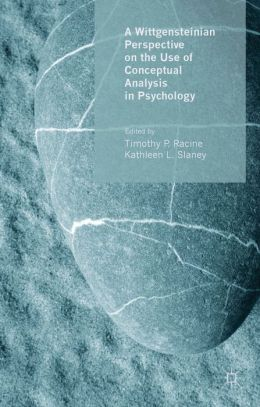A Wittgensteinian Perspective on the Use of Conceptual Analysis in Psychology