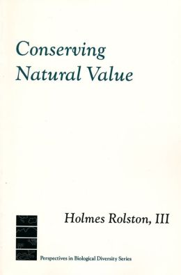 Conserving Natural Value
