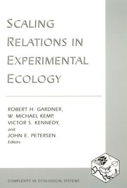 Scaling Relations in Experimental Ecology