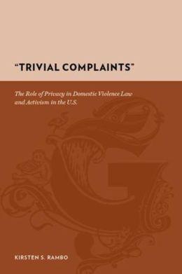 Trivial Complaints