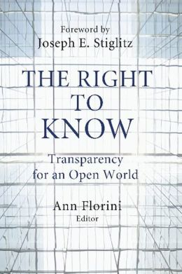 The Right to Know : Transparency for an Open World