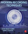 Book Cover Image. Title: Modern Recording Techniques, Author: David Miles Huber