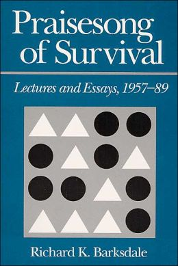 Praisesong of Survival: Lectures and Essays, 1957-89
