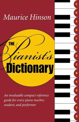 The Pianist's Dictionary