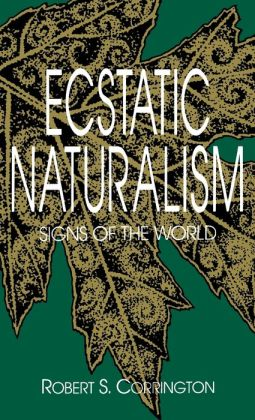 Ecstatic Naturalism