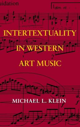 Intertextuality In Western Art Music
