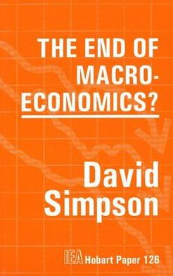The End of Macro-Economics?