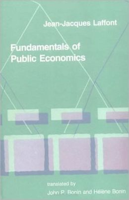 Fundamentals of Public Economics