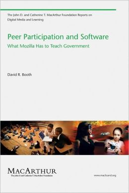 Peer Participation and Software: What Mozilla Has to Teach Government