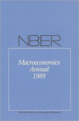 NBER Macroeconomics Annual 1989