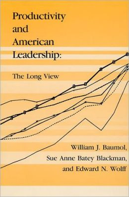 Productivity and American Leadership: The Long View