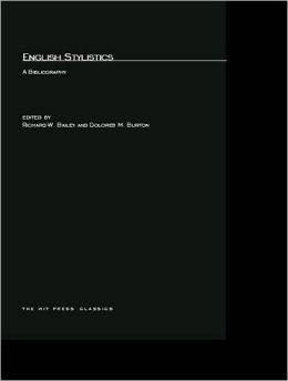 English Stylistics: A Bibliography
