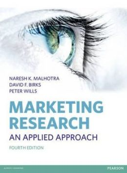 Marketing Research, 4th edition: An Applied Approach