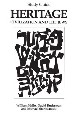 Heritage: Civilization and the Jews: Study Guide
