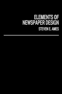 Elements Of Newspaper Design