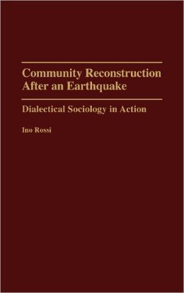 Community Reconstruction After An Earthquake