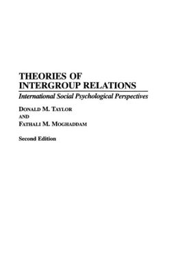 Theories Of Intergroup Relations