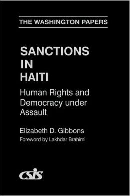 Sanctions In Haiti