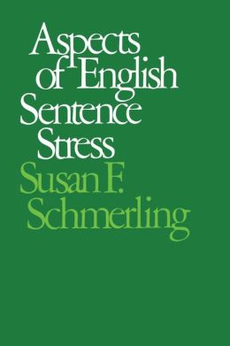 Aspects Of English Sentence Stress