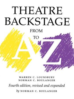 Theatre Backstage from A-Z