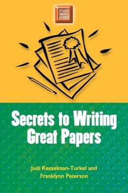 Secrets to Writing Great Papers