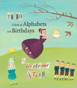 To Do: A Book of Alphabets and Birthdays
