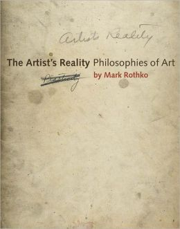 The Artist's Reality: Philosophies of Art