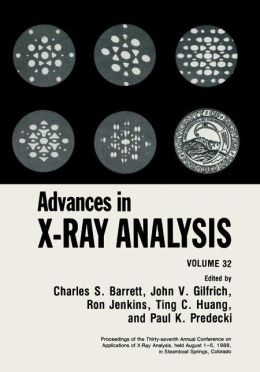 Advances in X-Ray Analysis: Volume 32