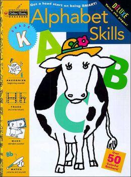 Alphabet Skills - Kindergarten: With Stickers (Workbook)