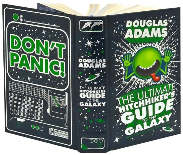 The Ultimate Hitchhiker's Guide to the Galaxy (Barnes & Noble Leatherbound Classics)