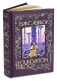 Book Cover Image. Title: The Foundation Trilogy (Barnes & Noble Leatherbound Classics Series), Author: Isaac Asimov