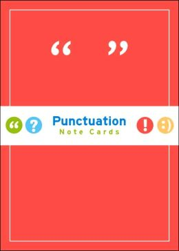 Punctuation Note Cards
