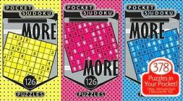 More Pocket Sudoku Pads set of 3
