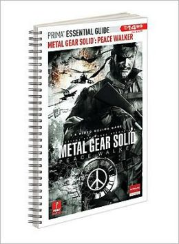 Metal Gear Solid Peace Walker: Prima Official Essential Guide