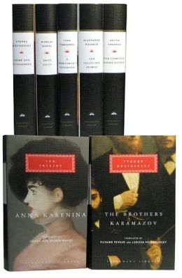 Russian Literature: The Complete Short Novels; The Brothers Karamazov; Crime and Punishment; Dead Souls; Collected Stories; Anna Karenina; The Sportsman's Notebook